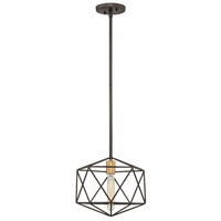 Astrid 1 Light 12 inch Metallic Matte Bronze Pendant Ceiling Light