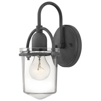 Hinkley 3030DZ Clancy 1 Light 6 inch Aged Zinc Sconce Wall Light
