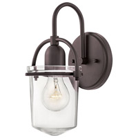 Hinkley 3030KZ Clancy 1 Light 6 inch Buckeye Bronze Wall Sconce Wall Light