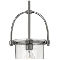 Hinkley 3031PN Clancy 1 Light 10 inch Polished Nickel Foyer Pendant Ceiling Light, Combo Mount alternative photo thumbnail