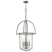 Hinkley Lighting Clancy 4 Light Foyer in Brushed Nickel 3034BN