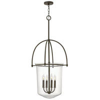Hinkley Lighting Clancy 4 Light Foyer in Buckeye Bronze 3034KZ