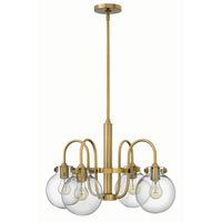 Hinkley Lighting Congress 4 Light Chandelier in Brushed Caramel 3044BC photo thumbnail