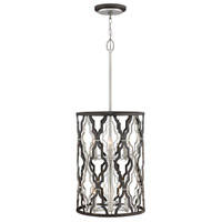 Hinkley 3065GG Portico 6 Light 14 inch Glacial Gold Chandelier Pendant Ceiling Light