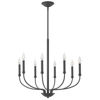 Hinkley 3076KZ Alister 8 Light 28 inch Buckeye Bronze Chandelier Ceiling Light