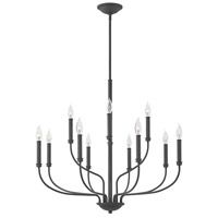 Alister 12 Light 32 inch Buckeye Bronze Chandelier Ceiling Light