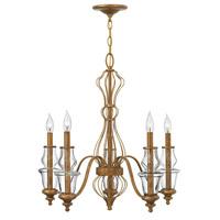 Hinkley Lighting Celine 5 Light Chandelier in Antique Gold Leaf 3085GF