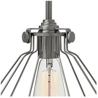 Hinkley 3110AN Congress 1 Light 9 inch Antique Nickel Mini-Pendant Ceiling Light alternative photo thumbnail