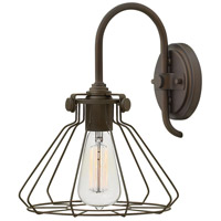 Hinkley 3113OZ Congress 1 Light 9 inch Oil Rubbed Bronze Sconce Wall Light
