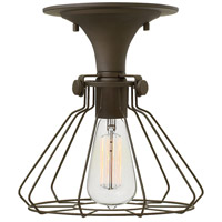 Hinkley Lighting Congress 1 Light Semi Flush in Oil Rubbed Bronze 3114OZ
