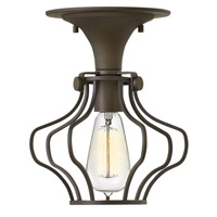 Hinkley Lighting Congress 1 Light Semi Flush in Oil Rubbed Bronze 3116OZ
