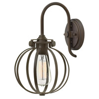 Hinkley 3118OZ Congress 1 Light 9 inch Oil Rubbed Bronze Sconce Wall Light