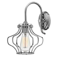 Hinkley 3119CM Congress 1 Light 8 inch Chrome Sconce Wall Light