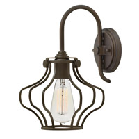 Hinkley Lighting Congress 1 Light Sconce in Oil Rubbed Bronze 3119OZ