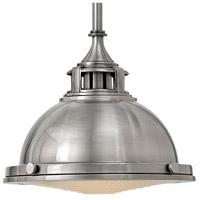 Hinkley 3122PL Amelia 1 Light 12 inch Polished Antique Nickel Mini-Pendant Ceiling Light alternative photo thumbnail