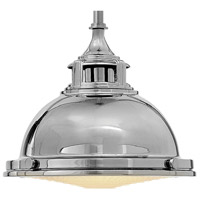 Hinkley 3122PN Amelia 1 Light 12 inch Polished Nickel Mini-Pendant Ceiling Light alternative photo thumbnail