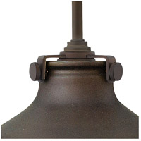 Hinkley 3138OZ Congress 1 Light 10 inch Oil Rubbed Bronze Mini-Pendant Ceiling Light alternative photo thumbnail