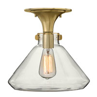 Hinkley Lighting Congress 1 Light Flush Mount in Brushed Caramel 3147BC