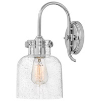 Hinkley 31700CM Congress 1 Light 7 inch Chrome Sconce Wall Light