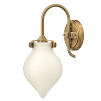 Hinkley Lighting Congress 1 Light Sconce in Brushed Caramel 3172BC photo thumbnail