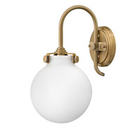 Hinkley Lighting Congress 1 Light Sconce in Brushed Caramel 3173BC