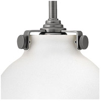 Hinkley 3173AN Congress 1 Light 7 inch Antique Nickel Sconce Wall Light, Retro Glass alternative photo thumbnail