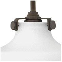 Hinkley 3175OZ Congress 1 Light 9 inch Oil Rubbed Bronze Sconce Wall Light, Retro Glass alternative photo thumbnail