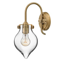Hinkley Lighting Congress 1 Light Sconce in Brushed Caramel 3177BC
