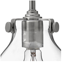 Hinkley 3177AN Congress 1 Light 6 inch Antique Nickel Sconce Wall Light, Retro Glass alternative photo thumbnail