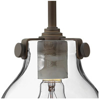 Hinkley 3177OZ Congress 1 Light 6 inch Oil Rubbed Bronze Sconce Wall Light, Retro Glass alternative photo thumbnail