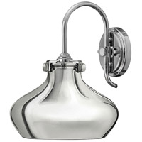 Congress 1 Light 10 inch Chrome Sconce Wall Light