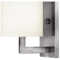 Hinkley 3210AN Hampton 1 Light 7 inch Antique Nickel Sconce Wall Light alternative photo thumbnail
