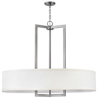 Hampton 9 Light 40 inch Antique Nickel Chandelier Ceiling Light