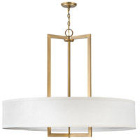 Hinkley 3219BR Hampton 9 Light 40 inch Brushed Bronze Chandelier Ceiling Light