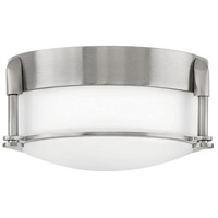 Hinkley 3230BN Colbin LED 7 inch Brushed Nickel Flush Mount Ceiling Light