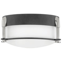Hinkley 3230DZ Colbin LED 7 inch Aged Zinc Flush Mount Ceiling Light