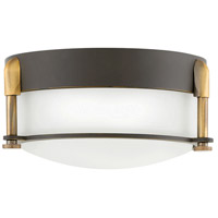 Colbin LED 7 inch Oil Rubbed Bronze Flush Mount Ceiling Light