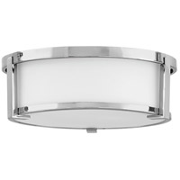 Hinkley 3241CM Lowell 2 Light 13 inch Chrome Flush Mount Ceiling Light