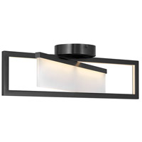 Hinkley 32503BLK Folio LED 23 inch Black Flush Mount Foyer Light Ceiling Light