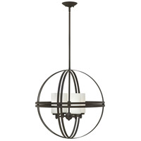 Atrium 4 Light 22 inch Bronze Chandelier Ceiling Light