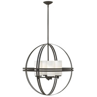 Hinkley 3275BZ Atrium 4 Light 26 inch Bronze Chandelier Ceiling Light