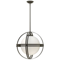 Hinkley 3277BZ Atrium 1 Light 19 inch Bronze Mini-Pendant Ceiling Light in Incandescent