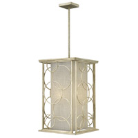 Hinkley Lighting Flourish 4 Light Foyer in Silver Leaf 3284SL