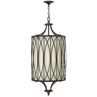 Walden 4 Light 16 inch Victorian Bronze Hanging Foyer Ceiling Light