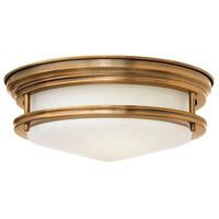 Hinkley 3302BR-LED Hadley LED 12 inch Brushed Bronze Foyer Flush Mount Ceiling Light