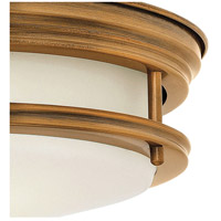 Hinkley 3302BR-LED Hadley LED 12 inch Brushed Bronze Foyer Flush Mount Ceiling Light alternative photo thumbnail