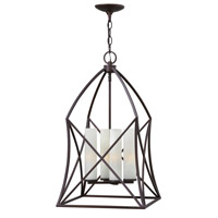 Hinkley 3313SB Ravenna 4 Light 14 inch Spanish Bronze Hanging Foyer Ceiling Light