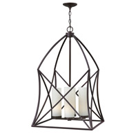 Hinkley 3314SB Ravenna 4 Light 20 inch Spanish Bronze Hanging Foyer Ceiling Light