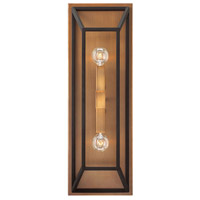 Hinkley 3330BZ Fulton 2 Light 8 inch Bronze Sconce Wall Light