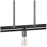 Hinkley 3335DZ Fulton 5 Light 50 inch Aged Zinc Linear Chandelier Ceiling Light alternative photo thumbnail